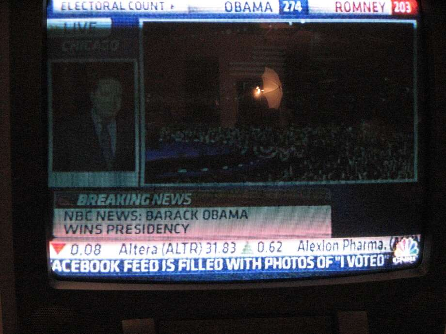 At 11:13 pm, NBC went live with 'Barack Obama wins presidency.' Within minutes, other networks and Web sites called it.