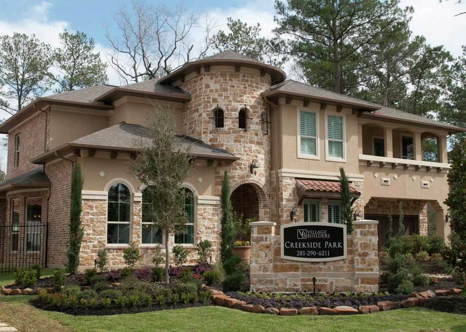 The Stanton by Village Builders is in the neighborhood of Spincaster North in The Woodlands? Village of Creekside Park. It is priced from $564,990. Photo: Ted Washington / Copyright©Ted Washington