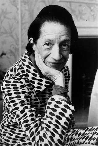 """Diana Vreeland: The Eye Has to Travel,"" explores the life of the eccentric fashion magazine editor. Photo: Evening Standard/Getty Images / Hulton Archive"