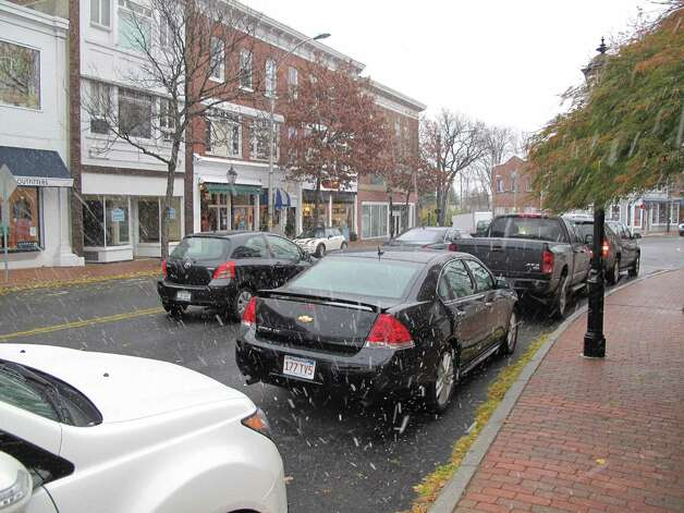 Snow on Main Street. 11/7/12. Photo: Tyler Woods