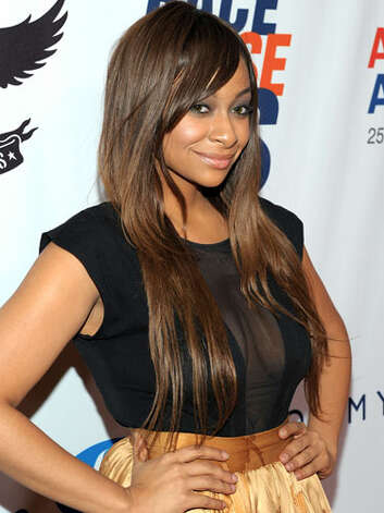 Raven Symoné By the Race to Erase MS event in 2011, Raven had learned to take it down to the core beauty basics: glowing skin, sleek makeup and shiny hair.  Reprinted with Permission of Hearst Communications, Inc. Originally Published: 60 Best Celebrity Makeovers of All Time Photo: Getty Images / 2011 WireImage