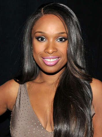 Jennifer Hudson Jennifer has lost more than a few dress sizes! Her pastel pink lips are evidence that she has gained beauty savvy. We love her straightened cascading strands at Christmas in Washington 2011.  Reprinted with Permission of Hearst Communications, Inc. Originally Published: 60 Best Celebrity Makeovers of All Time Photo: Getty Images