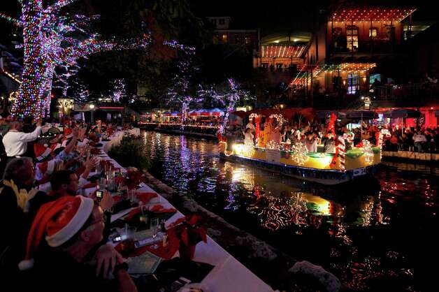 The Ford Holiday River Parade kicks off the holiday season in San Antonio on Friday. Nov. 23, on the River Walk. Photo: Courtesy Photo