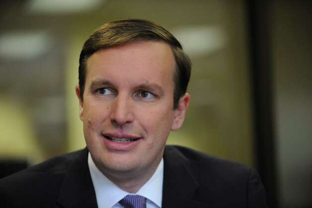 Congressman Chris Murphy (D-5) candidate for U.S. Senate. Photo: Cathy Zuraw / Connecticut Post