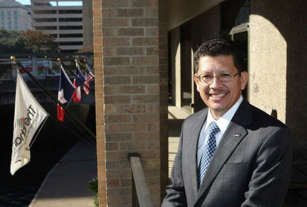 Richard Perez is president of the Greater San Antonio Chamber of Commerce. Photo: HELEN L. MONTOYA, SAN ANTONIO EXPRESS-NEWS / hmontoya@express-news.net