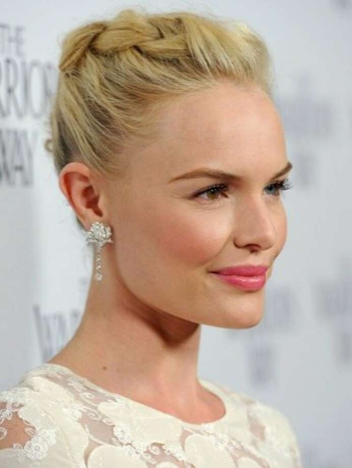 Braid Your Bun: Kate Bosworth at The Warrior's Way screening in Los Angeles. Photo: Frazer Harrison, Getty Images