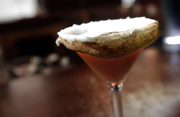 The carrot cake martini at SoHo Wine & Martini Bar. (SAN ANTONIO EXPRESS-NEWS)