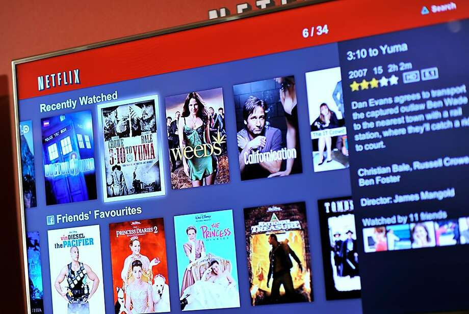 A new study indicates Netflix is increasing its dominance of the online viewing market. Photo: Gareth Cattermole, Getty Images For Netflix