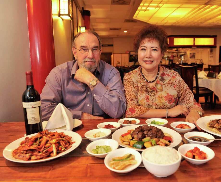 Army veteran Tom Cacy and his wife, Young, own Ilsong Korean BBQ and Sushi. Photo: Robin Jerstad/For The Express-Ne