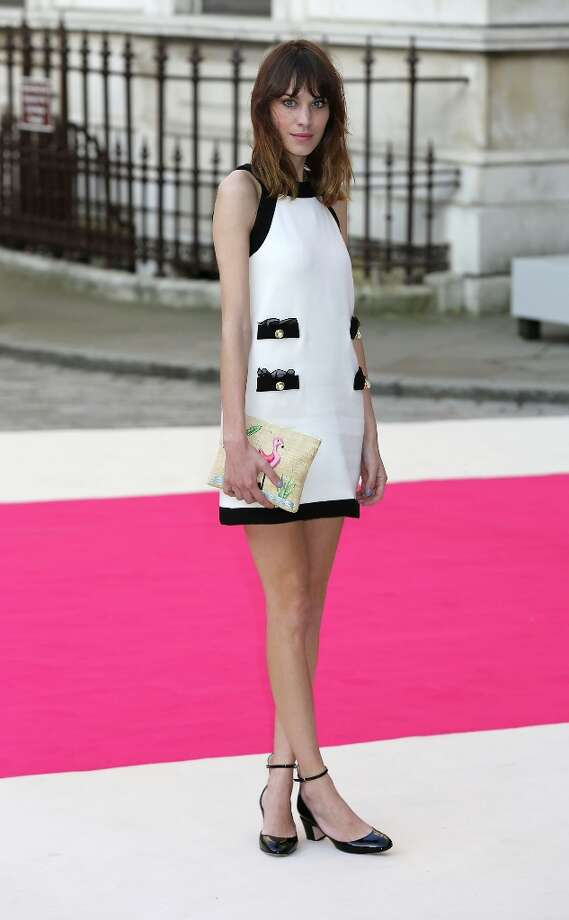Model/TV host Alexa Chung came in fourth. Photo: Tim Whitby, Getty Images / 2012 Getty Images