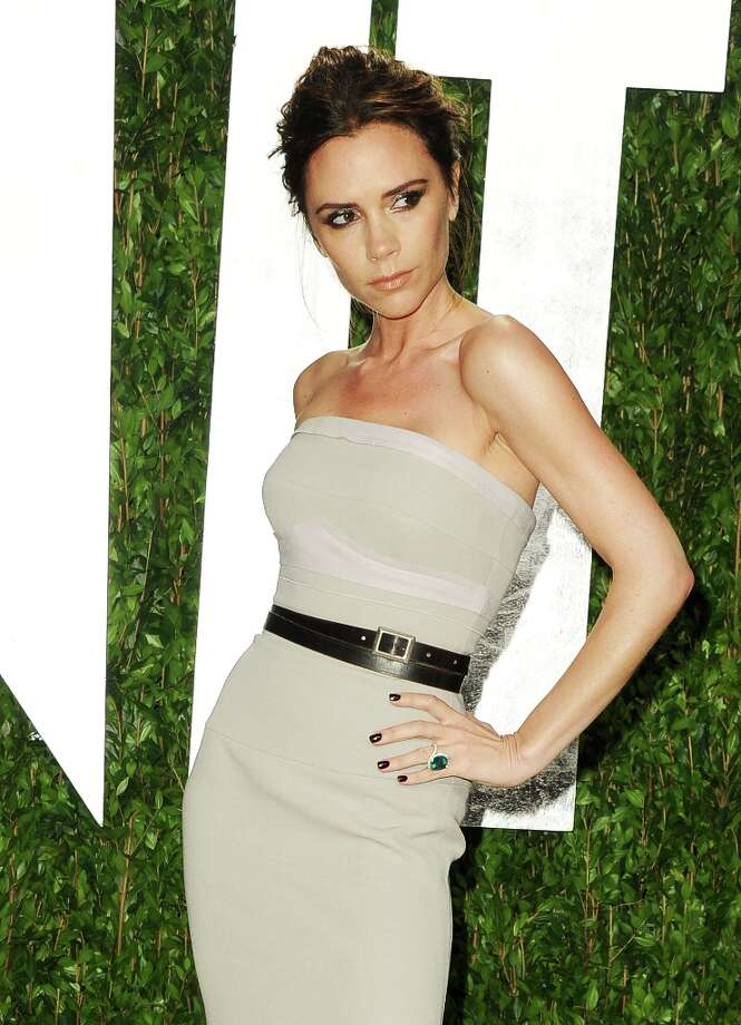 Fashion designer/former Spice Girl Victoria Beckham was sixth. Photo: Pascal Le Segretain, Getty Images / 2012 Getty Images