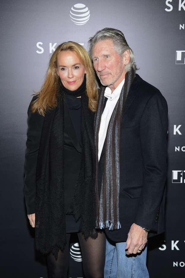"""Roger Waters and Laurie Durning attends the Tribeca Film Institute Benefit Screening Of """"Skyfall"""" at Ziegfeld Theater on November 5, 2012 in New York City. Photo: Larry Busacca, Getty Images / 2012 Getty Images"""