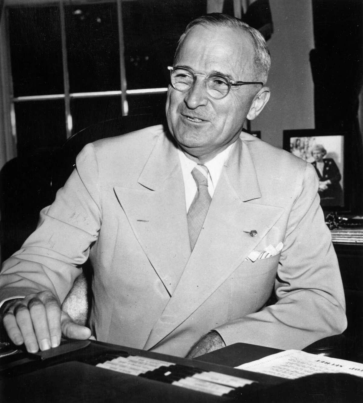 Harry Truman High: 87 percent, June 1945 Low: 22 percent, February 1952