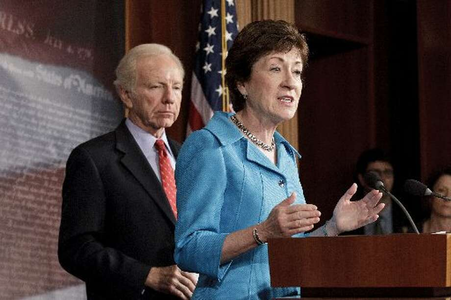 U.S. Senator from Maine Susan Collins was first elected in 1996. (AP  Photo/J. Scott Applewhite)