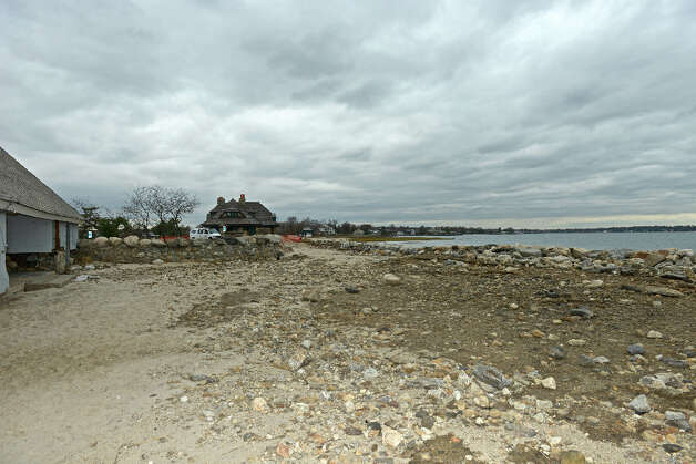 Greenwich Point three days after superstorm Sandy came ashore, November 1, 2012