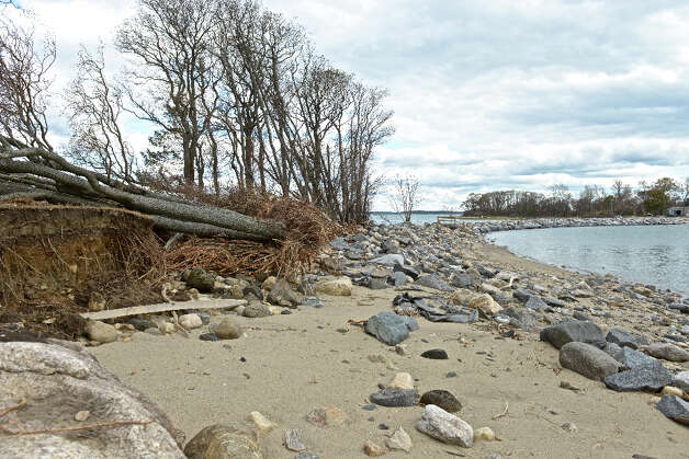 Great Captain's Island four days after superstorm Sandy blew through, November 2, 2012