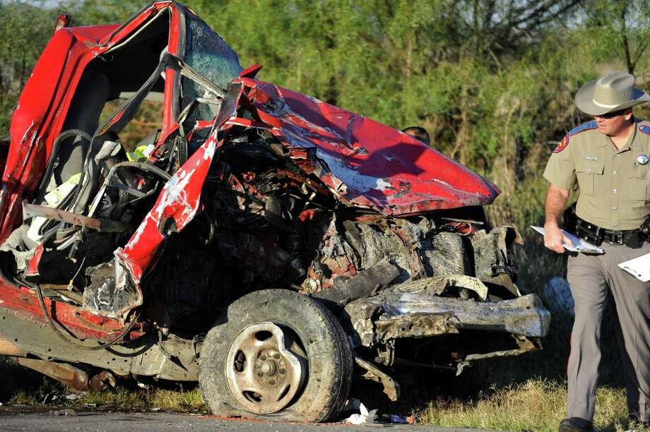 File photo of a fatal wreck. According to a new study, the Memorial Day weekend has seen more fatal crashes than any other weekend since 2012. Photo: Kimberley Meyer, Associated Press / San Angelo Standard-Times