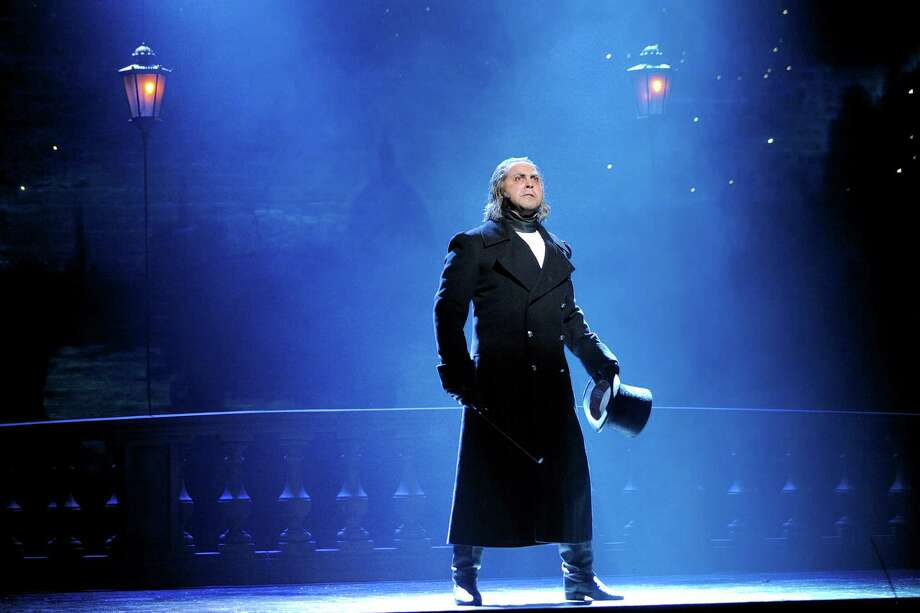 """Stars,"" by Andrew Varela as Javert in the new 25th anniversary of ""Les Mis rables."" Photo: Deen Van Meer / ©2010 photographer Deen van Meer, photographer should be credited at all times"