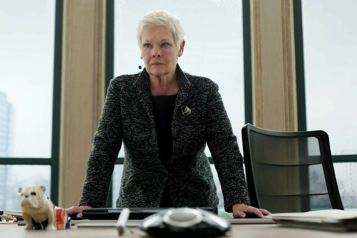Judi Dench stars in Metro-Goldwyn-Mayer Pictures/Columbia Pictures/EON Productionsí action adventure SKYFALL.