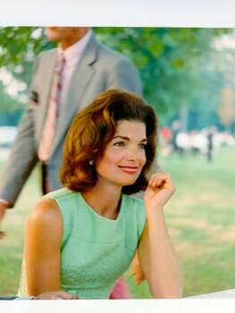 The Look: Pink Lips  Jackie Kennedy, 1960 Photo: Getty Images