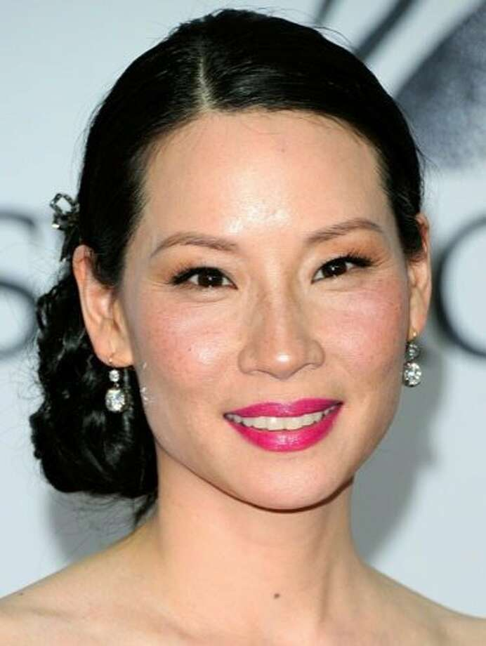 The Look: Pink Lips  Lucy Liu, 2011 Photo: Getty Images