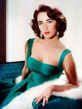 The Look: Full Brows  Elizabeth Taylor, 1950 Photo: Getty Images