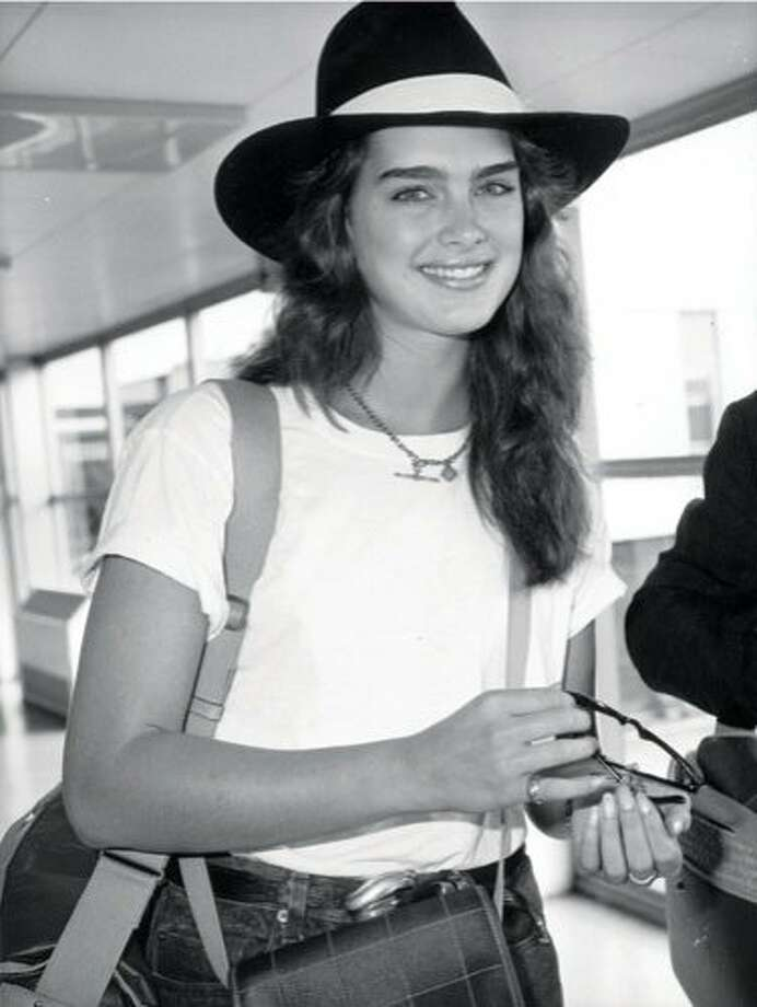The Look: Full Brows  Brooke Shields, 1985 Photo: Getty Images