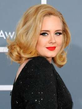The Look: Winged Liner  Adele, 2012 Photo: Getty Images