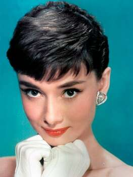 The Look: Winged Liner Audrey Hepburn, 1954