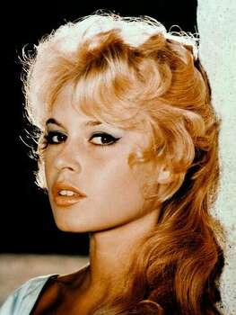 The Look: Winged Liner  Brigitte Bardot, 1956