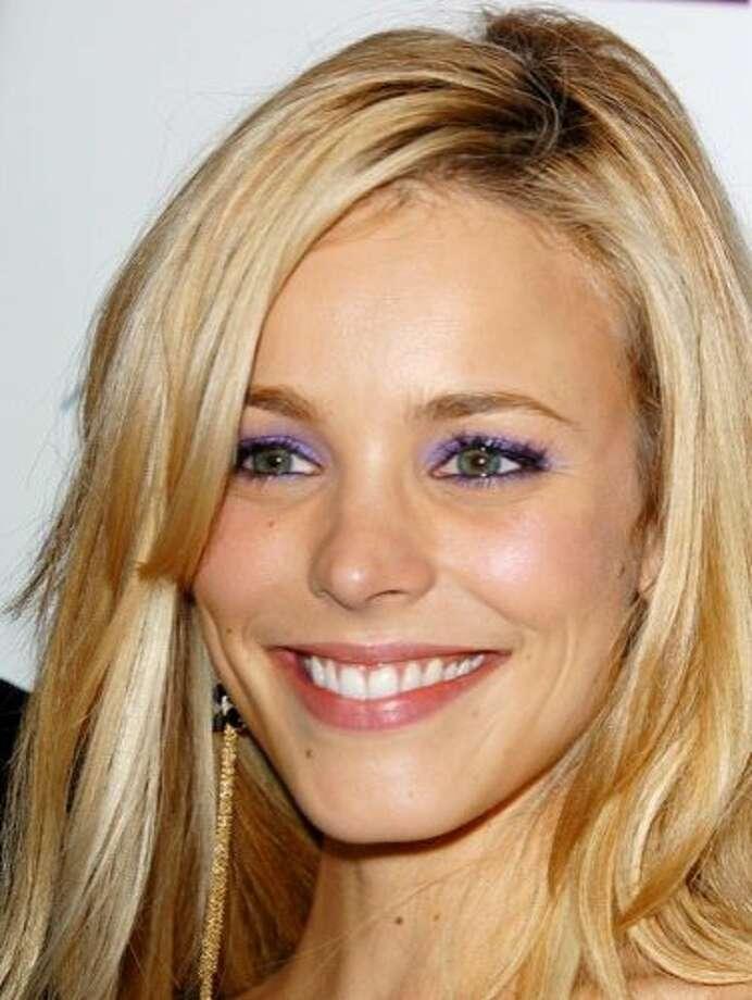 The Look: Purple Eyeshadow  Rachel McAdams, 2005 Photo: Getty Images