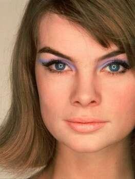 The Look: Purple Eyeshadow  Jean Shrimpton, 1960  Photo: Getty Images