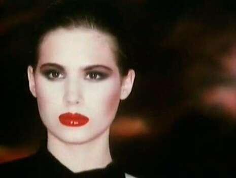 The Look: Red Lips Nameless Robert Palmer girl! 1988  Photo: Girl: Courtesy Of Robert Palmer