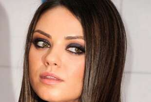 The Look: Smoky Eyes  Mila Kunis, 2012