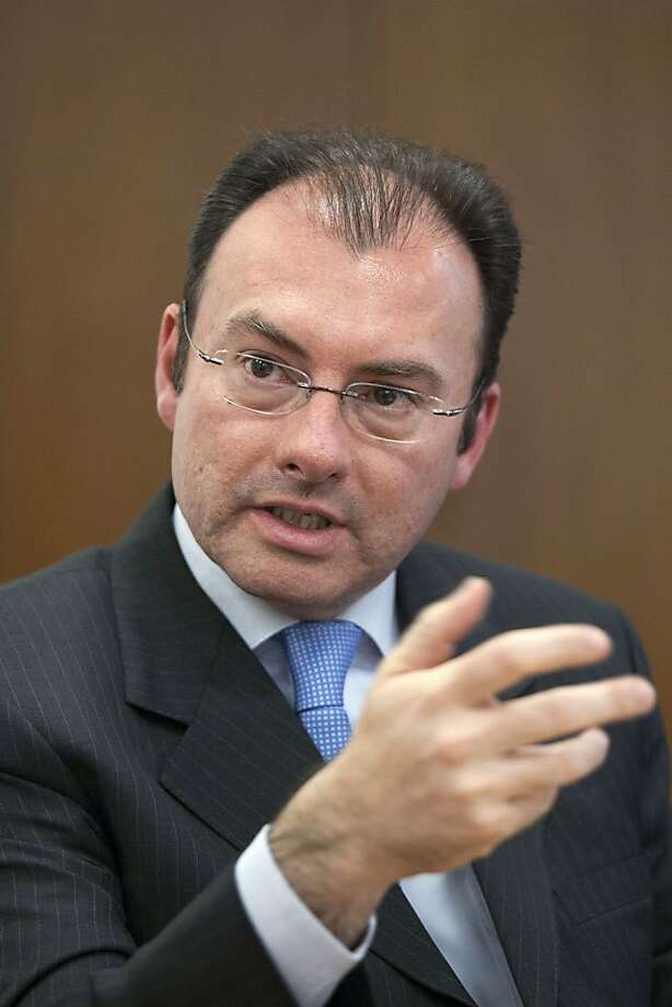"Luis Videgaray says ""the rules of the game"" have changed. Photo: Susana Gonzalez, Bloomberg"
