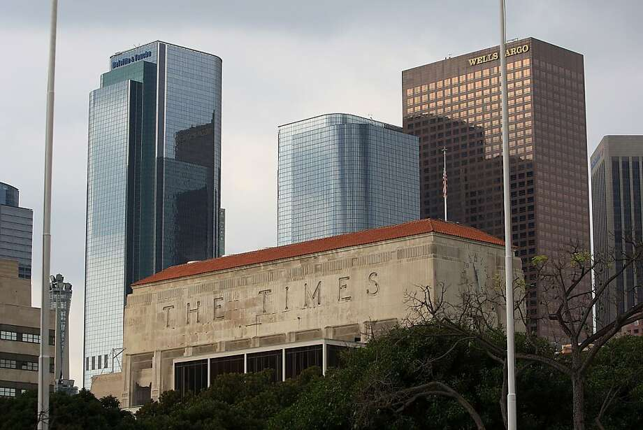 The Los Angeles Times' owner, Tribune Co., recently emerged from bankruptcy, owns several other large newspapers, and apparently wants to get out of the newspaper business. Photo: Getty Images