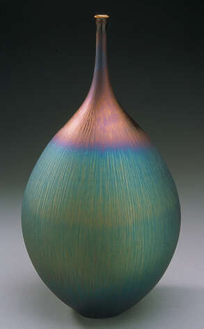 Various types of contemporary glass items will be featured at the 37th CraftWestport event at Staples High School Saturday and Sunday, Nov. 17-18. Photo: Contributed Photo