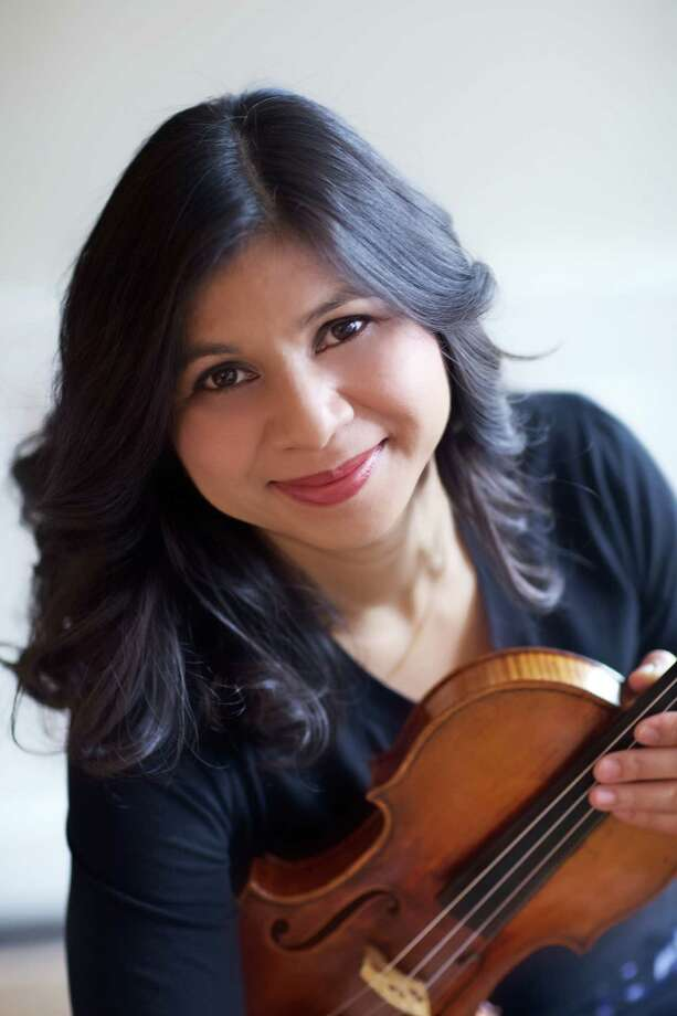 "The Greater Bridgeport Symphony's ""Germania"" concert on Saturday, Nov. 17, will feature violinist Adele Anthony performing Max Bruch's Violin Concerto No. 1. Photo: Contributed Photo"