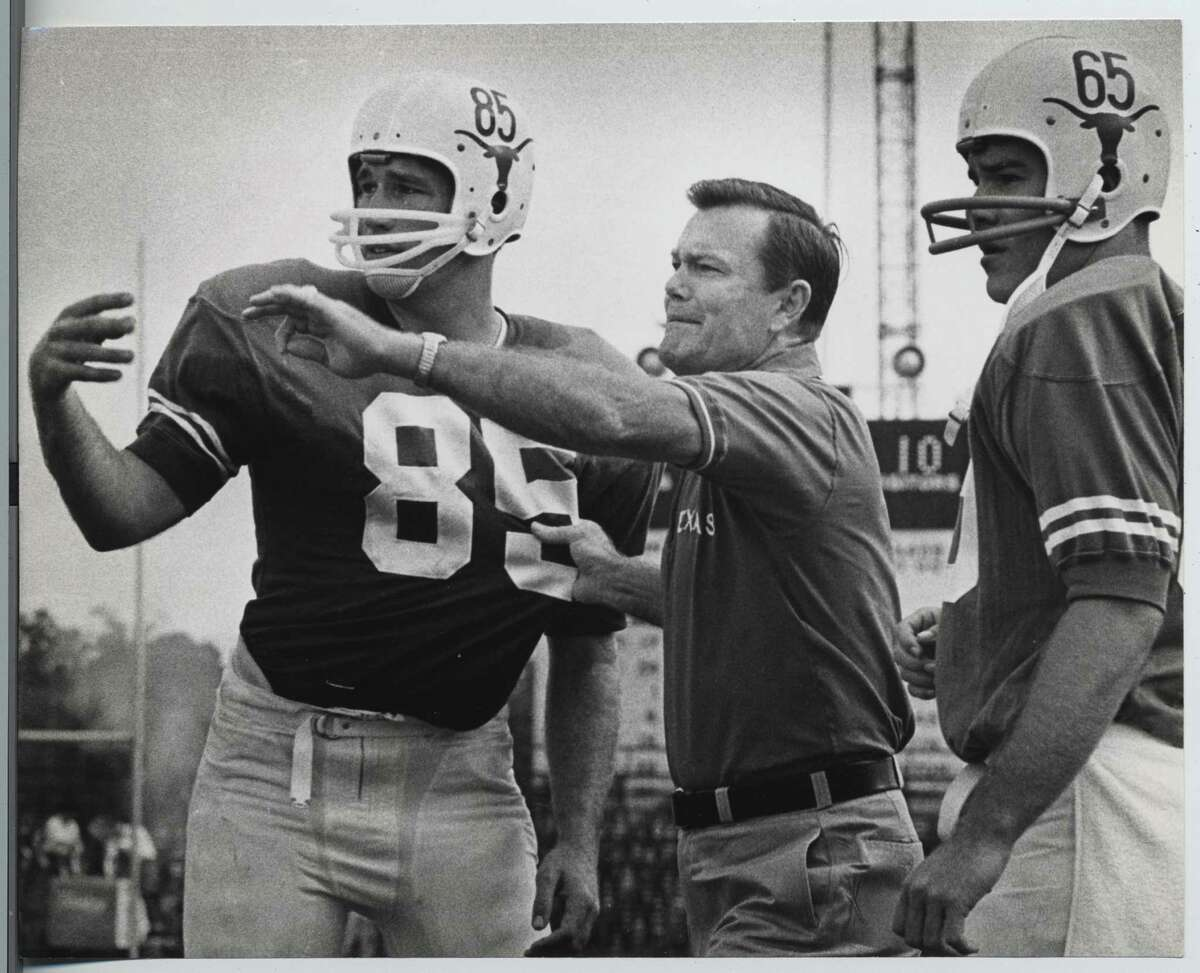 Before Alzheimer's took hold, Darrell Royal spent much of his later years relaxing at home; in 1966, he was starting to make his name as a coaching genius.