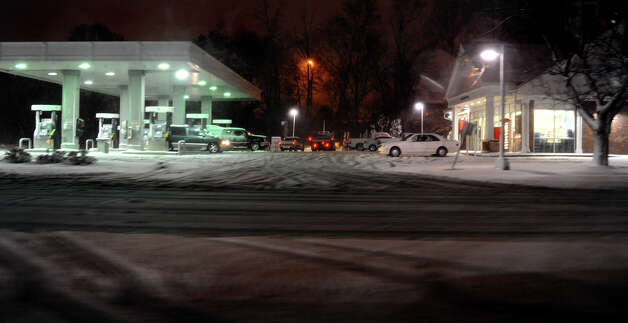 No gas at Cumberland Farms convenience store in Fairfield, Conn. on Wednesday November 7, 2012. Photo: Christian Abraham / Connecticut Post