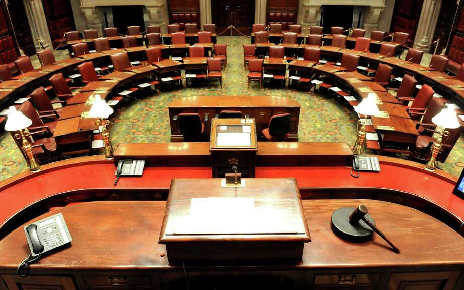The Senate Chamber on Wednesday, Nov. 7, 2012, at the Capitol in Albany, N.Y. (Cindy Schultz / Times Union) Photo: Cindy Schultz / 00020016A