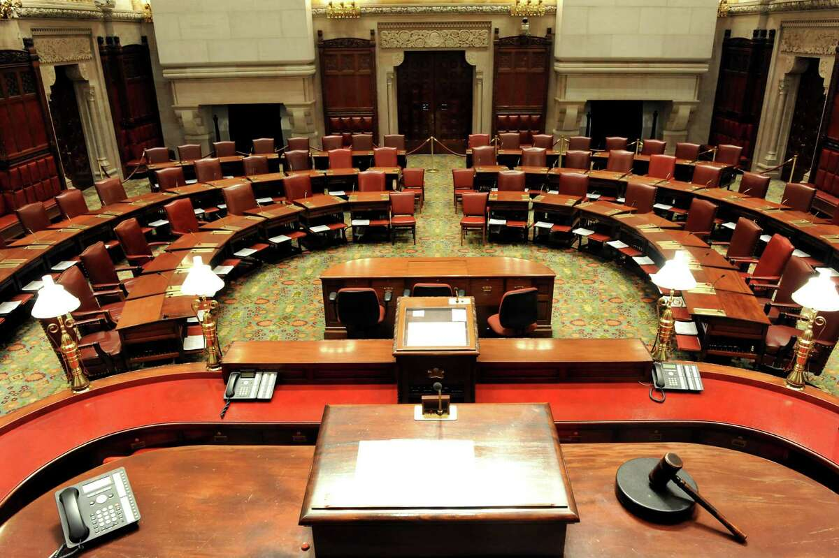 The Senate Chamber on Wednesday, Nov. 7, 2012, at the Capitol in Albany, N.Y. (Cindy Schultz / Times Union)