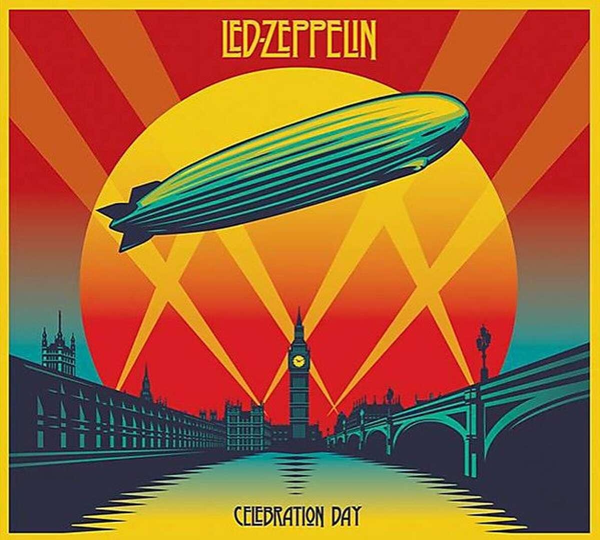 "CD cover, Led Zepelin's ""Celebration Day"""