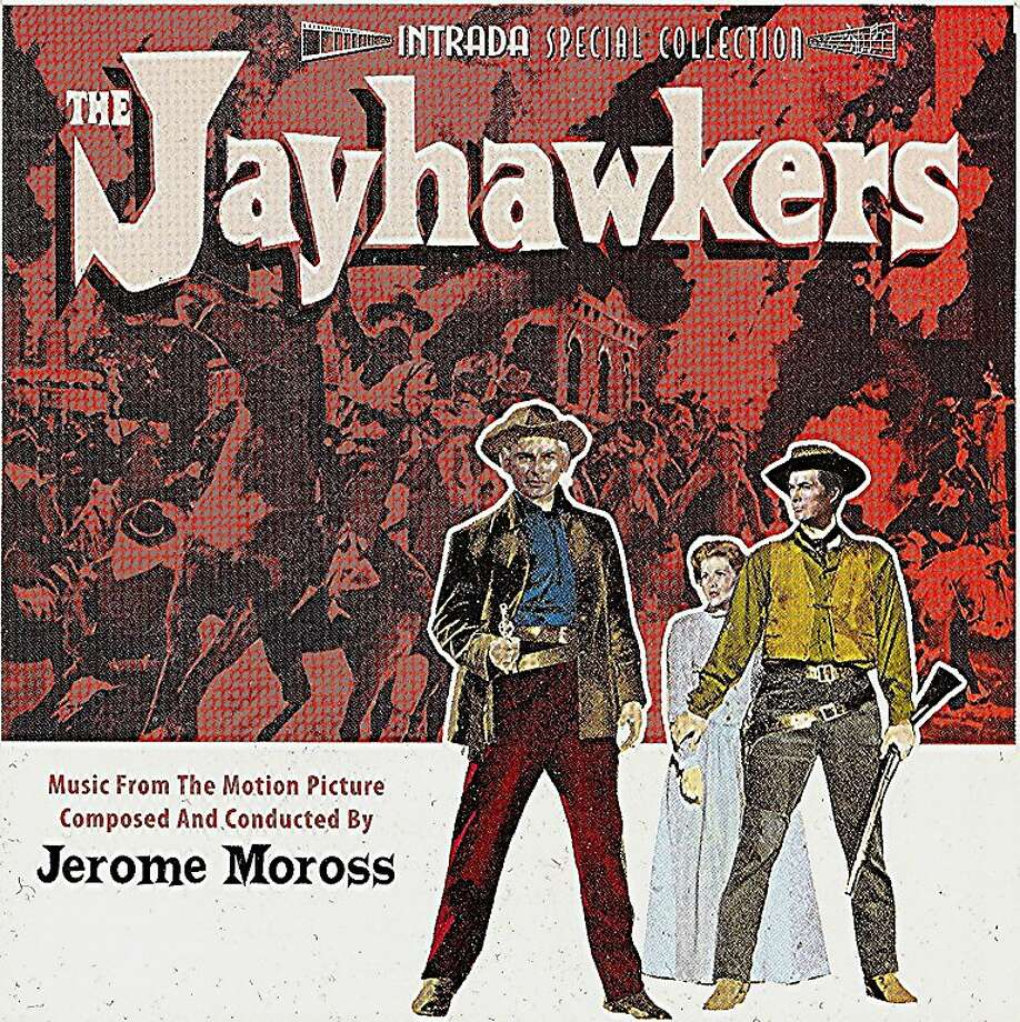 "CD cover, ""The Jayhawkers"" soundtrack Photo: Intrada"