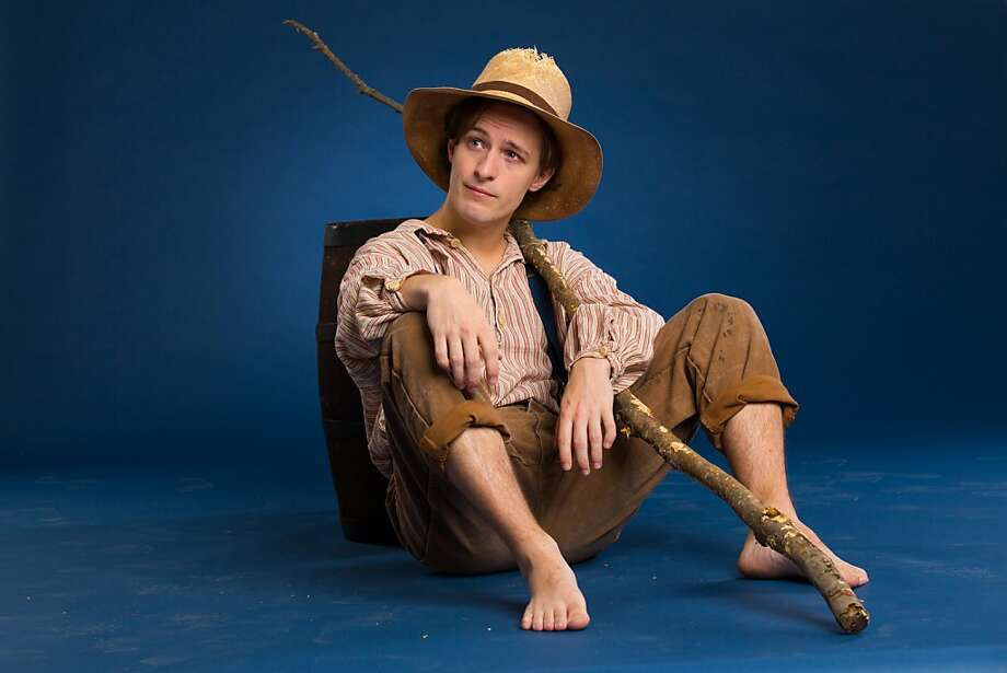 "Alex Goley stars as Huckleberry Finn in ""Big River"" through Dec. 30 at TheatreWorks in Palo Alto. Photo: Joan Marcus"