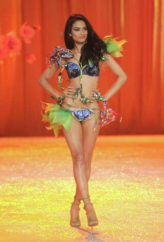 Model Shanina Shaik walks the runway. Photo: Jamie McCarthy, Getty Images / 2012 Getty Images