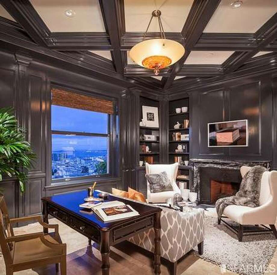 Office. Photo via SFMLS/Sotheby's International.