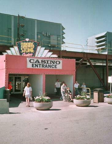 The The temporary entrance to Turning Stone Casino July 1, 1997. (Times Union Archive) Photo: DOUG BLACKBURN, DG / ALBANY TIMES UNION