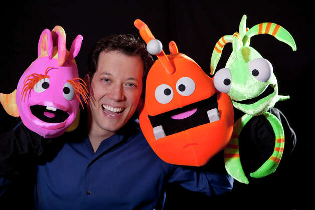 "The Tony-nominated star of ""Avenue Q"" - John Tartaglia - created a black light puppet show ""John Tartaglia's ImaginOcean"" that will be presented Sunday, Nov. 1 at the Regina Quick Center on the Fairfield University campus. Photo: Contributed Photo / Connecticut Post Contributed"