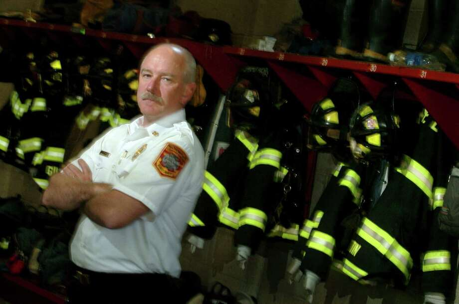 Norwalk Fire Chief, Denis McCarthy Photo: File Photo